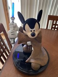Signed Brian Blackmore Disney Star Wars 2006 Mickey Mouse Jedi Lightsaber New Bx