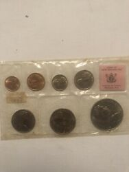 New Zealand From £.s.d To .c First Minting Of Decimal Coins Souvenir Set 1967