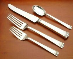Trianon By International Sterling Silver 4 Piece Place Setting Luncheon French