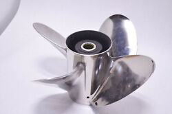 Johnson/evinrude Stainless Steel 4-blade Prop 13 1/4 X 25 431718