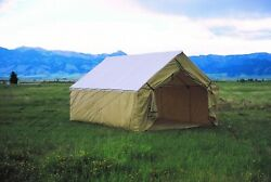 Montana 18and039x23and039 Canvas Tent Shelter