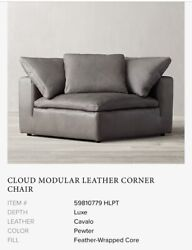 Restoration Hardware Cloud Couch Slipcover Luxe Leathercorner