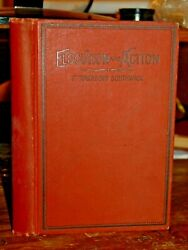 1894 Elocution And Action Exercises In The Art Of Expression Speaking Rare