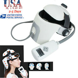 Head Acupressure Massager For Relaxation And Stress Massag Helmet With Music Fda