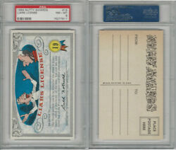 1964 Topps, Nutty Awards, 19 Liars License, Psa 8 Nmmt