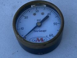 Vintage Tire Gauge Gh Meiser And Co Accu-gage - Made In The Usa Collectible