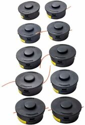 Trimmer Head 10 Pack For Stihl Trimmer Bump Heads 25-2 String Trimmers