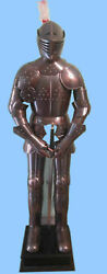 Medieval Antique Knight Suit Of Armour Reenactment Collectibles Full Body Armour