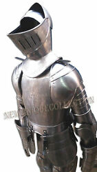 Medieval Full Suit Of Armor German Gothic Halloween Costume