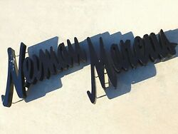 Nieman Marcus Wall Sign - Reverse Lit Channel Letters