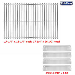 Repair Kit Heat Plate Cooking Grates For Charbroil Nexgrill Grill Master Kenmore