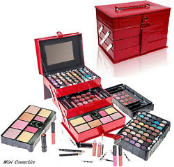 Kid Safe Makeup Kit Cosmetic Kit ALL IN ONE Full Make up Set 81 Piece Set $27.49