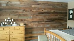 Real Reclaimed Barn Wood Wall Covering Planks50sq Ft Free Shipping