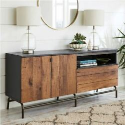 Tv Stand Buffet Cabinet Credenza Mid Century Modern Media Entertainment Center