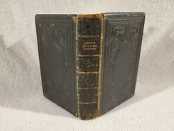 Antique 1862 Pilgrim's Progress By John Bunyan T. Nelson And Sons Leather Bound