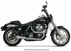 Tbr Comp S 2in1 Exhaust Fxr Brushed W/cf End Cap 005-4440199