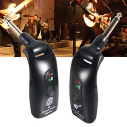 Rechargeable 2.4ghz Wireless Guitar System Transmitter And Receiver 3.7v 600mah