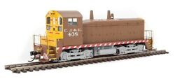 Walthers 10603 Emd Nw2 Phase V -standard Dc Elgin Joliet And Eastern 438 Ho Mib