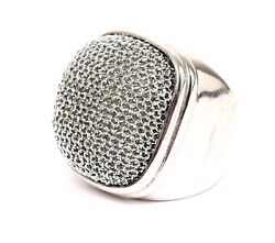 Adami And Martucci Womenand039s Silver Ring Sz 5.5 1140