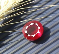 Big Deal Offer 28.80ct Unheated Untreated Natural Red Ruby Shiny Gemstone Mg1531