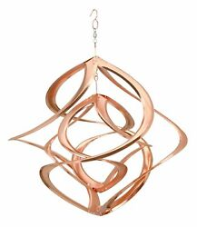 Medium Double Copper Cosmix Wind Spinner - Ds