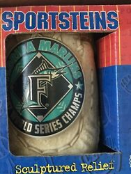 Florida Marlins 1997 World Series Champs Official Mlb Sportstein Mug New In Box
