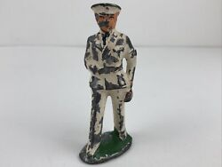 Vintage Manoil Barclay Us Navy Naval Sailor Soldier Lead Toy Figure