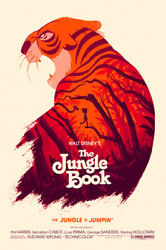 Jungle Book By Olly Moss - Very Rare Artist Proof Sandn - Sold Out Mondo Print