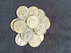 The Franklin Deal All 90 Lot Old Us Junk Silver Coin 2 Lb 32 Oz. 1964 One