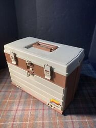 Plano 757 Tackle Box Well Cared For Gently Used Complete Excellent Plastic