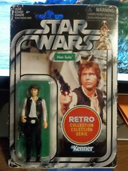 Star Wars Ep Iv A New Hope Vintage Retro Wave 1 Han Solo Brand New