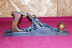 Antique Mystery Uknown Wood Plane No 9 Carpenters Woodworking Tool Old Vintage