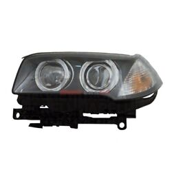 New Hid Head Light Lens And Housing Right Fits 2007-2010 Bmw X3 63123456046