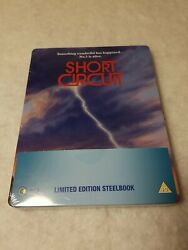 Short Circuit Steelbook Blu Ray Uk Sold Out Limited Edition Sealed