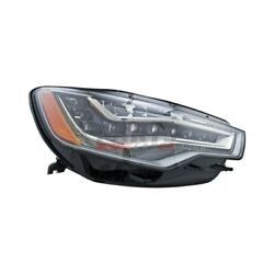 New Led Headlight Lens And Housing Right Side Fits 2012-2015 Audi A6 4g0941774b