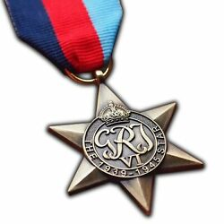 The 1939-1945 Star Medal Ww2 Highest British Military Medal For | Army | Navy...