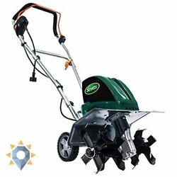 Tc70135s 13.5-amp 16-inch Corded Tiller/cultivator, 11 Wide And 8 Deep, Green
