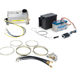 Disc Brake Electric / Hydraulic Brake Actuator With Line And Breakaway Kit