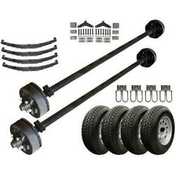 3.5k Heavy Duty Tandem Axle Tk Trailer Kit - 7000 Lb Capacity Original Series