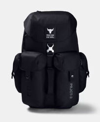 UNDER ARMOUR PROJECT ROCK 3 PRO BACKPACK BLACK 1354941 001 $199.99