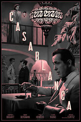 Casablanca By Rory Kurtz - Variant - Signed Artist Proof - Sold Out Not Mondo