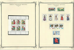 Germany Ddr Stamp Collection On 24 Scott Specialty Pages, 1976-1979, Jfz