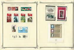 Germany Ddr Stamp Collection On 24 Scott Specialty Pages, 1985-1987, Jfz