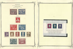 Germany Ddr Stamp Collection On 24 Scott Specialty Pages, Bob 1948-87, Jfz
