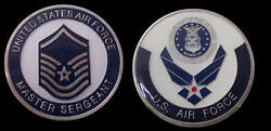 Us Air Force Master Sergeant Rank Challenge Coin Military Coins