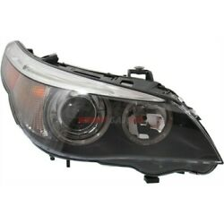 New Hid Head Lamp Lens And Housing Right Fits 2004-2007 Bmw 525i 63127160198