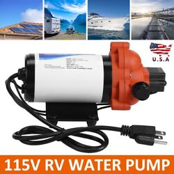 For Wall Outlet 115vac 3.3 Gpm Industrial Rv Water Pressure Pump Plugs Into Wall