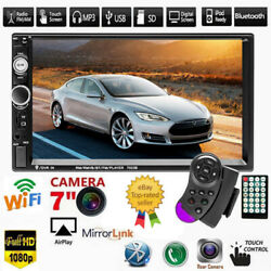 7 Inch Car Stereo Radio Hd Mp5 Player Touch Screen Usb Tf Bluetooth Radio 2din