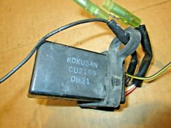 Nissan Tohatsu Mercury Mariner Oem 4-5 Hp 2-stroke Cdi Ignition Pack And Coil