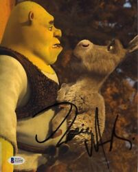 Eddie Murphy Shrek Autographed Signed 8x10 Photo Beckett Authentic Bas Coa